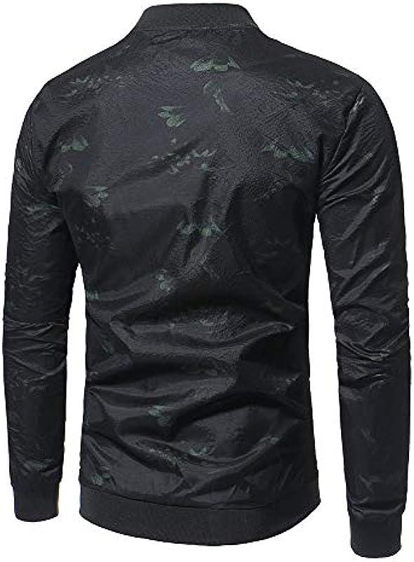 YOUTHUP męska kurtka przejściowa w kwiaty kurtka na czas wolny casual kurtka sportowa: Odzież