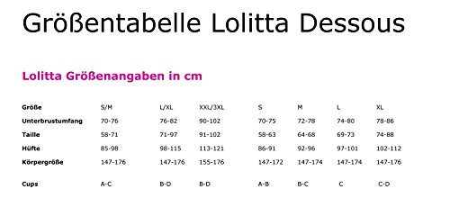 m Lolitta By Suspender Dress S Weiß 0IOnaq