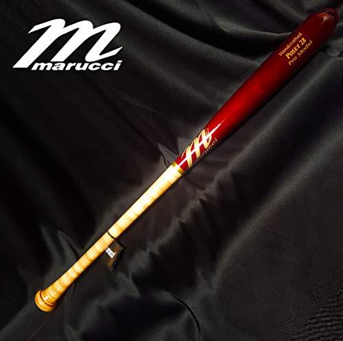 (POSEY28 Custom Pro Maple Baseball Bat, Inferno/Cherry 33