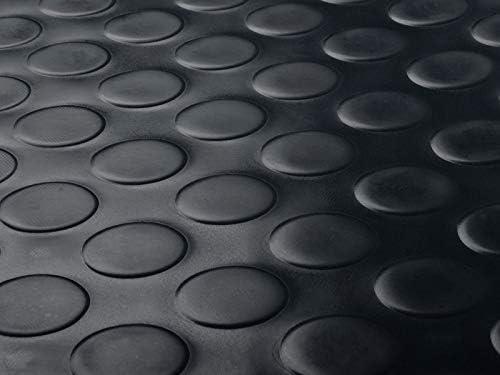 3 breiten Nopenmatte Gummimatte Schutzmatte Noppenmatte Bodenmatte mit Noppen Gummil/äufer 3mm stark 100 x 50 cm