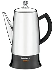 Cuisinart PRC-12FR Classic Stainless Percolator, Stainless Steel (Certified Refurbished)