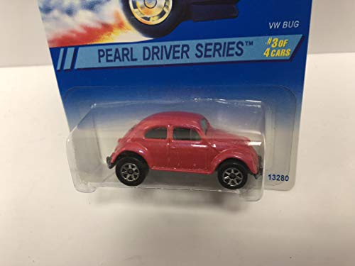 VW BUG Pearl Driver Series 1995 Mattel Hot Wheels Collector diecast 1/64 scale No. 293