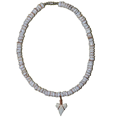 Tiger Puka Shell Necklace - 7