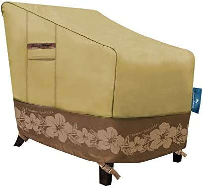 Tommy Bahama 29101 Lounge Deep-Seat Patio Chair Cover, Tan Brown