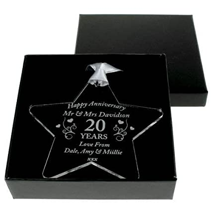 China Wedding Anniversary Gift 20th Anniversary Gifts Personalised