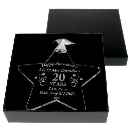 china wedding anniversary gift 20th anniversary gifts personalised