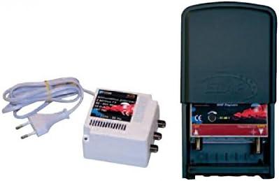 High-Tech 371003 Kit damplificateur R/églable TV TNT UHF 4G Noir