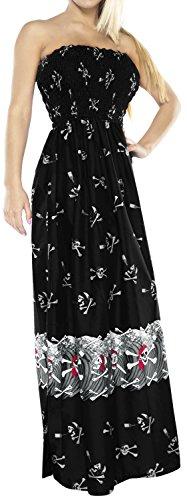 long black pirate dress - 3