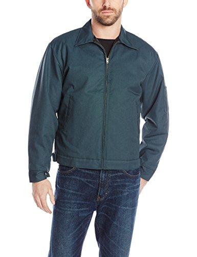 Red Kap Men's Slash Pocket Quilt-Lined Jacket, Spruce Green, 2X-Large