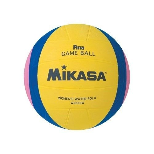 Mikasa official Fina Water Polo Game Ball; Women`s Size 4-yellow-blue-pink