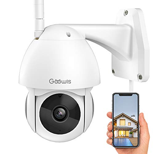 Security Camera Outdoor Goowls