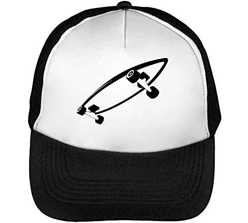 Blanco Snapback Negro Graphic Black Gorras Skateboard Hombre Beisbol Dope BXx8xqOAnw