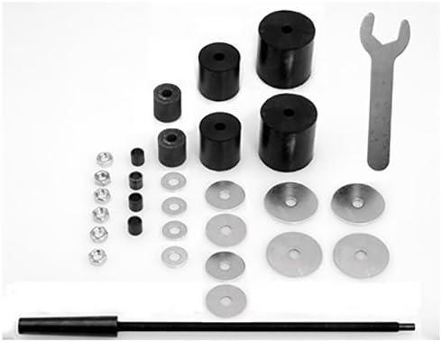 4.5mm Cutting Dia 8cm Long HSS Woodworking Twist Drill Bit 10pcs By Fuxell