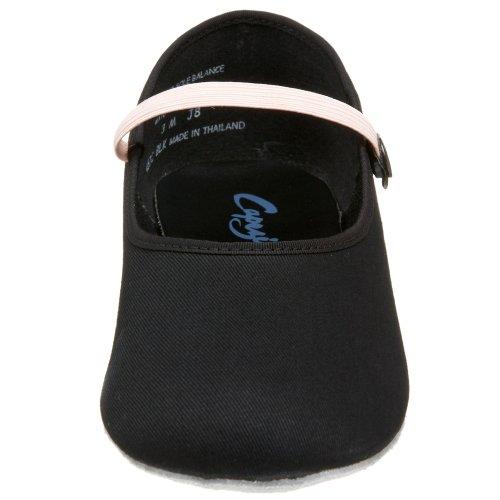 Capezio - Zapatillas de danza para niña negro 29 - negro