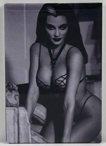 Sexy Lily Munster Pinup Refrigerator Magnet. The Munsters