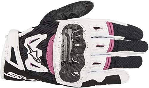 Alpinestars Unisex Adult Gloves Black//White//Pink X-Small 3302-0586