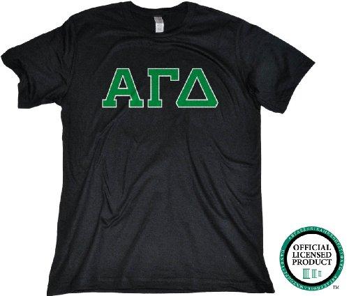 Ann Arbor T-Shirt Co. Men's Alpha Gamma Delta Fitted AGD Sorority T-Shirt