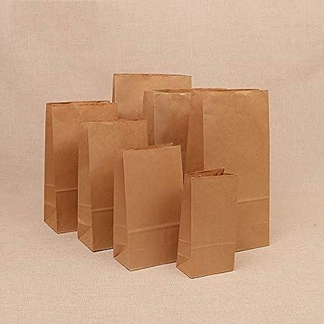 Amazon.com: Xiaogongju - 10 bolsas de papel Kraft para ...