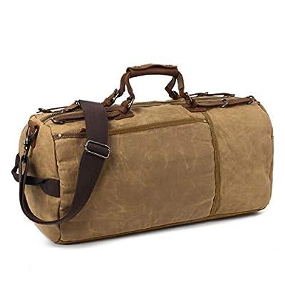 SOAEON Canvas Duffle Bag