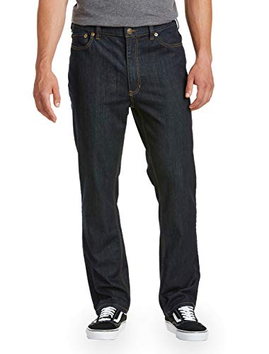 True Nation by DXL Big and Tall Athletic-Fit Denim Jeans