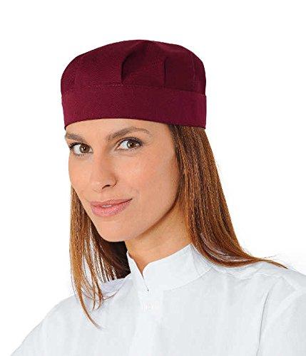 Isacco Cappello Bob Bordeaux 65/% Poliestere 35/% Cotone Isacco Bordeaux Senza rete
