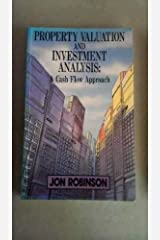 Property Valuation & Investment Analysis: A Cash Flow Approach Paperback