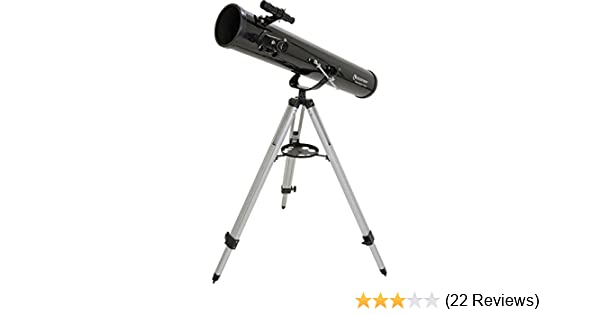 Amazon celestron powerseeker az telescope black