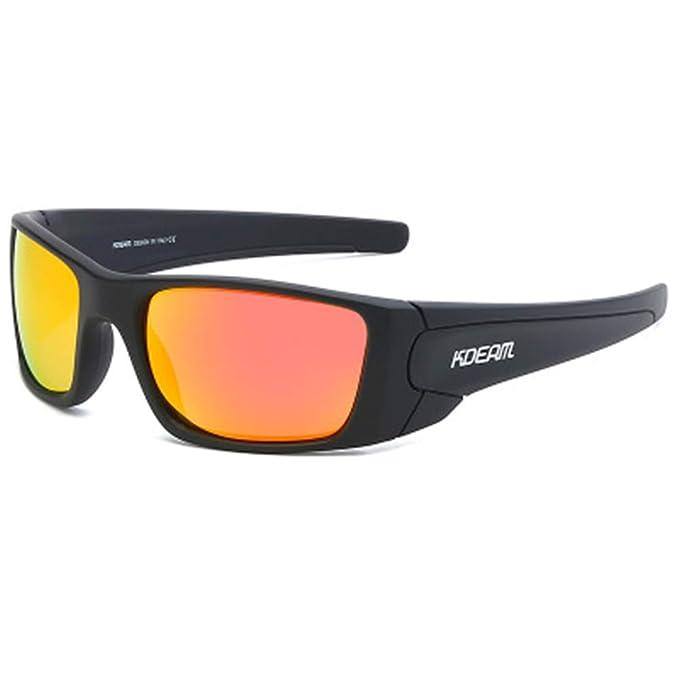 HHY Gafas de sol para hombre Gafas de sol cuadradas para ...
