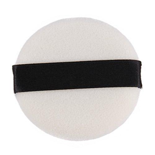 SODIAL(R)Puff de polvo de esponja blanca de Maquillaje 028224