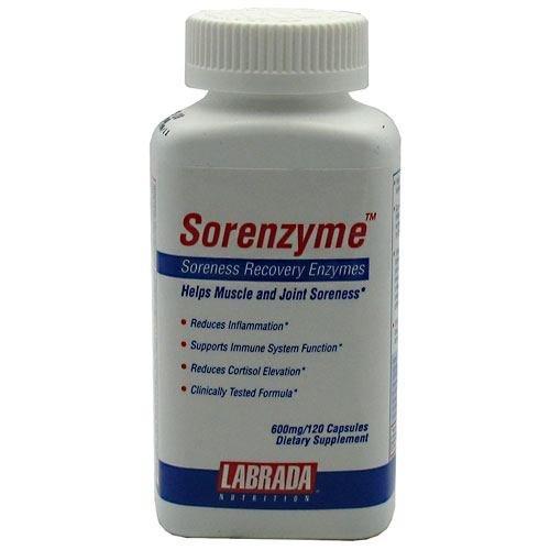 Labrada Nutrition Sorenzyme - Post-workout - 600mg/120 capsules
