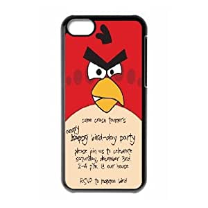 iPhone 5C Cases, DDdiy Angry bird Custom Hard Back Cover Case for iPhone 5C