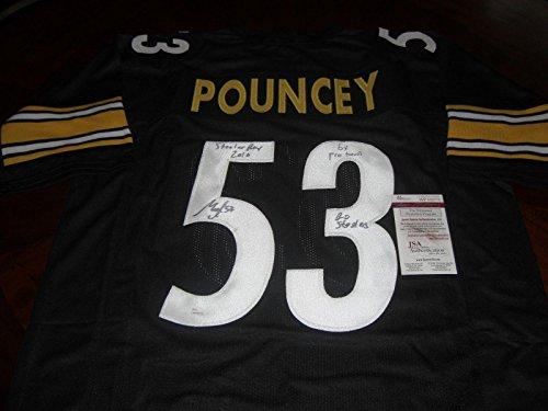 Maurkice Pouncey Signed Jersey - Go Roy 2010 6x Pro Bowl coa - JSA Certified - Autographed NFL Jerseys