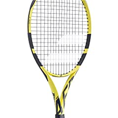 The extended version of Rafael Nadal`s racquet of choice, The Babolat 2019 Pure Aero Tennis Racquet get some nice upgrades and a beautiful bright yellow and black finish. The driving force for the Aero series is the Aeromodular beam construct...