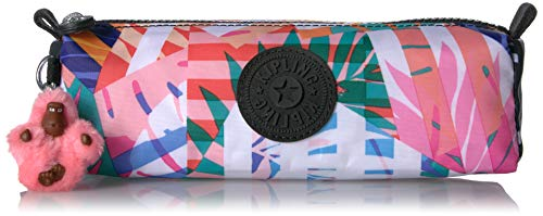 (Kipling Freedom Pencil, Multi Use Pouch, Zip Closure, Black Print Combo)