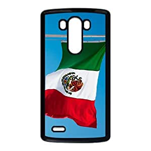 Mexico Flag LG G3 Cell Phone Case Black JU0051307