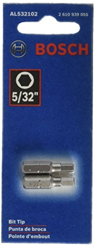 Bosch AL532102 Allen B 5/32-Inch with  1-Inch Insert Bit, 2-Pack