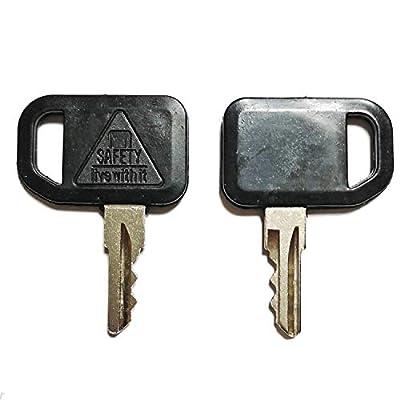 Mover Parts 2PCS Ignition Keys AM131841 131841 for John Deere 300 400 GT GX LX Series 130 160 165 Gator 4X2 6X4 622 600 1800 2020 2020A 2030A 850D 855D: Automotive