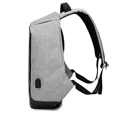 Bag Anti Charging Shoulder And Men Oxford theft Computer Business Smart Travel Bag Women Bag Backpack Purple Usb wXY4dExX