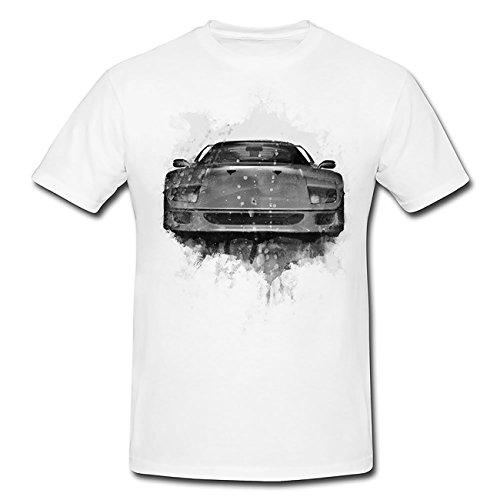 Ferrari f40 T-Shirt Herren, Men mit stylischen Motiv von Paul Sinus