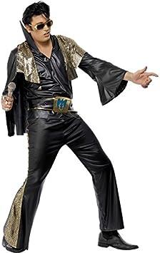Smiffys - Disfraz de Elvis Presley™ para hombre, talla M (48/50 ...