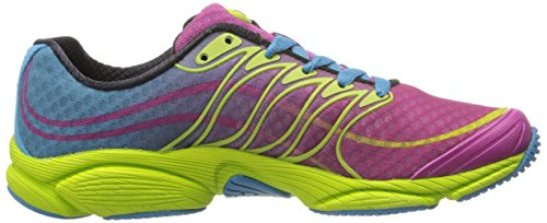 Zapatillas Merrell Mujeres All Out Flash Trail Running Wine / Lime