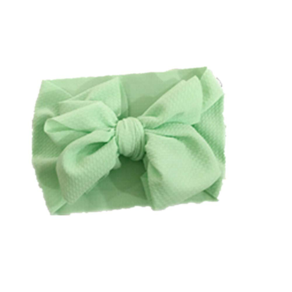 Toddler Girls Kids Baby Cute Big Bow Headband Stretch Turban Knot Head Wraps Gifts Hair Accessories