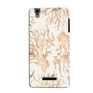 Cover It Up - Blue Pastel Nature Print YU Yureka Hard Case