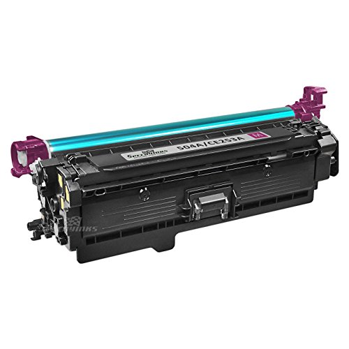 Speedy Inks - Remanufactured Replacement for HP 504A CE253A Magenta Laser Toner Cartridge for use in HP Color LaserJet CP3525dn, CP3525n, CP3525x, CP3525, CP3530, CM3530, CM3530fs