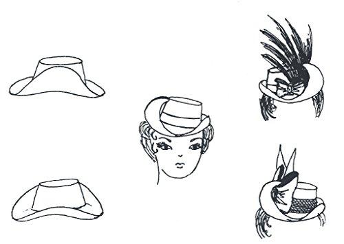 1870's - 1880's Hat Pattern