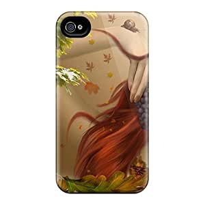 Premium RKv35328fcxT Cases With Scratch-resistant/ Girl And Grapes Cases Covers For Iphone 6