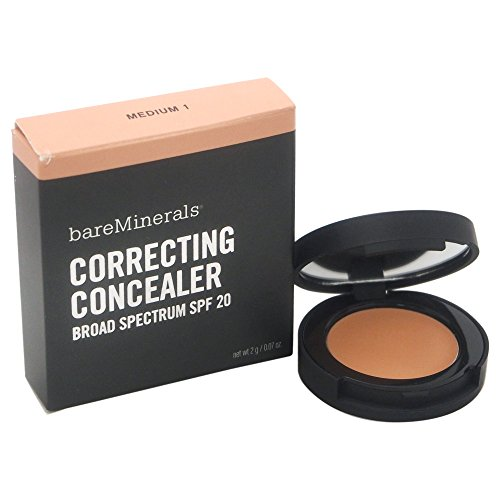 Bareminerals Bisque (Bare Escentuals SPF 20 Correcting Concealer In Medium 1, 2 Gram / 0.07 Ounce)