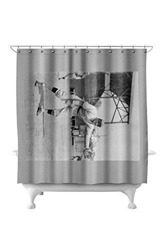 - Cozy Dolan, St. Louis Cardinals, Baseball Photo (71x74 Polyester Shower Curtain)