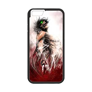 """WJHSSB Diy case Attack on Titan customized Hard Plastic Case For iPhone 6 Plus (5.5"""") [Pattern-3]"""