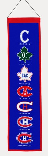 Winning Streak NHL Montreal Canadiens Heritage Banner (Montreal Hockey Nhl)